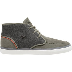 777aa0ef608 ΜΠΟΤΑΚΙ LACOSTE SEVRIN MID LACE 32CAM0005 ΧΑΚΙ/ΓΚΡΙ 00051X5