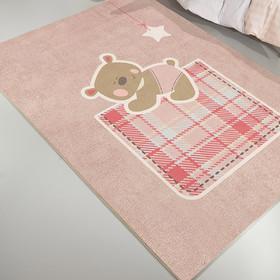 f66231b8b97 Παιδικό Χαλί (150x200) Saint Clair Teddy Pink