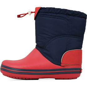 4ec83158f9f 203509 CROCS CROCBAND LODGEPOINT BOOT - NAVY/RED
