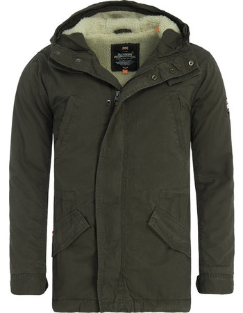 SuperDry Rookie Military Parka Jacket M50026TP-BE3 2b0f40b7f36