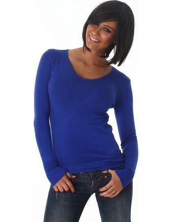 πουλοβερ μπλε γυναικειο - Γυναικεία Πλεκτά 32544f30cc5