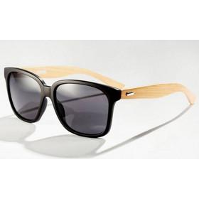 dd8e482c59 Unisex Γυαλιά Ηλίου με Βραχίονες από Bamboo Sand Black