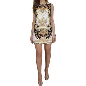 f80844c50850 Μίνι Φόρεμα Toi   Moi 50-3979-19 Λευκό Εμπριμέ toimoi 50-3979