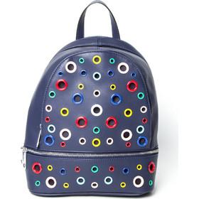 8f92ec66f8 LUNA backpack δερματίνη-NAVY-27-114-014