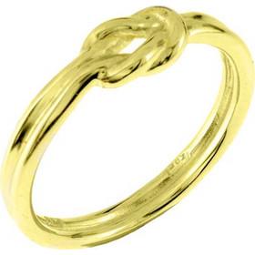 Χρυσό δαχτυλίδι ναυτικός κόμπος Κ14 DF806A cac501a9e17