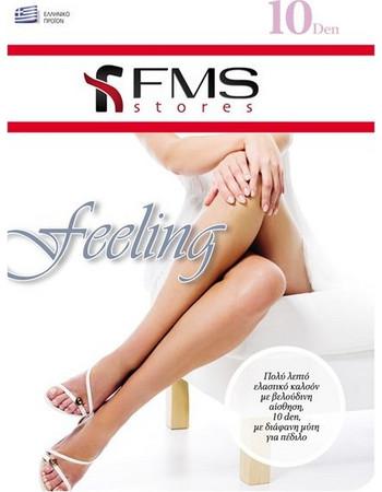 FMS Καλσόν 10 Den Feeling Ελαστικό 3D Δίαφανη Μύτη Τρόπικαλ 95f6679e755