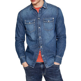 157631944d0e Pepe - PM302294C12 000 - HAMMOND - DENIM - Πουκάμισο Jean