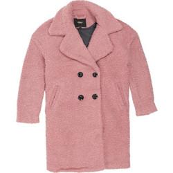fd32d8b70643 Only Paloma Boucle Long Wool Coat 15158221 Ροζ