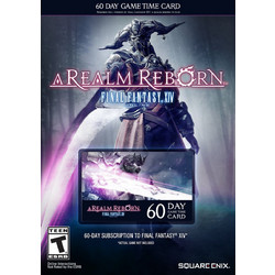 Final Fantasy XIV A Realm Reborn 60 Days Timecard