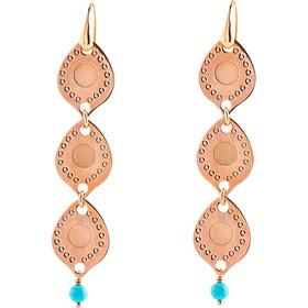 Σκουλαρίκια Μεταλλικά Loisir Σε Χρώμα Ροζ Χρυσό 8a0aaf11761