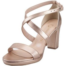 f957260276a Γυναικεία Δερμάτινα Πέδιλα Stefania Shoes 352 Bronze