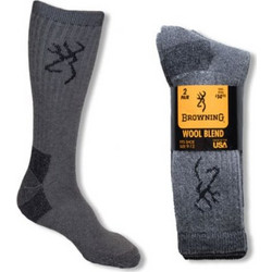 BROWNING HEAVYWEIGHT WOOL SOCKS (2-PACK LARGE) 1970ef788a1