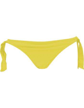 Club Neuf χαμηλοκάβαλο neon κίτρινο σλιπ μαγιό με φαρδιά κορδόνια Dreamy  370137 c5d479620d6