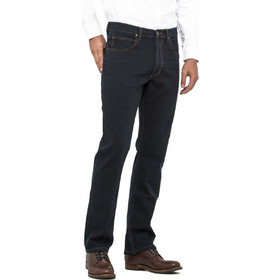 b992471bc221 Lee Brooklyn Straight regular straight ανδρικό τζην παντελόνι Blue black -  L45271HH - Μπλε Σκούρο