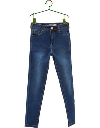 OVS μπλε ξεβαμμένο ψηλόμεσο τζην παντελόνι - 000263693 - Μπλε 37a65c03b88