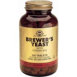 Solgar Brewers Yeast 500mg 250s