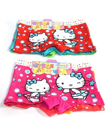 Boxer κολλητό παιδικό 3 τεμάχια Hello Kitty db2a2439e8a