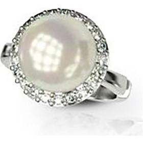 Εντυπωσιακό δαχτυλίδι συλλογή Bridal από ασήμι με εντυπωσιακή πέρλα και  πέτρες swarovski 83d320cfbe5