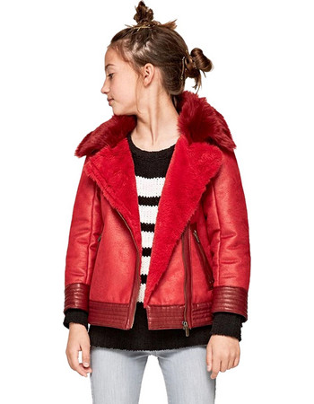 PEPE JEANS ARCADIA ΜΠΟΥΦΑΝ ΠΑΙΔΙΚΟ ΚΟΡΙΤΣΙ PG400743-280 (280 BERRY RED) 25a5a430282
