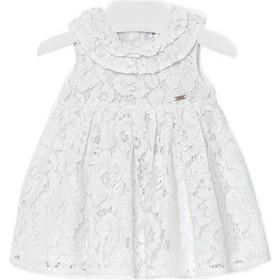 Φορεμα δαντελα Mayoral 29-01936 - λευκο 99cea1925a2