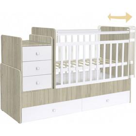 f560f0af6d9 Πολυμορφικό κρεβάτι Polini Kids, Simple 1100 σε άσπρο/ulme Polini Kids