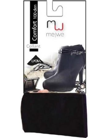 Me We MeWe Comfort Ελαστικό Ματ Καλσόν 100 Den Lycra Ανθρακί ed79f64a8a7