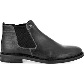 UR1 SHOES Μποτάκια Αστραγάλου Ανδρικά Παπούτσια 638 Μαύρο H589R6382002 47700 29e4c02aba0