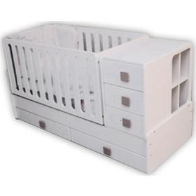 First Baby κρεβάτι πολυμορφικό Bella + ΔΩΡΟ ΟΡΘΟΠΕΔΙΚΗ ΣΧΑΡΑ First Baby 0cf78a8360d