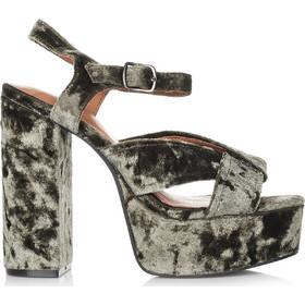 092b30e4e345 Πέδιλα Jeffrey Campbell Velvet Amalia V Platform Sandals