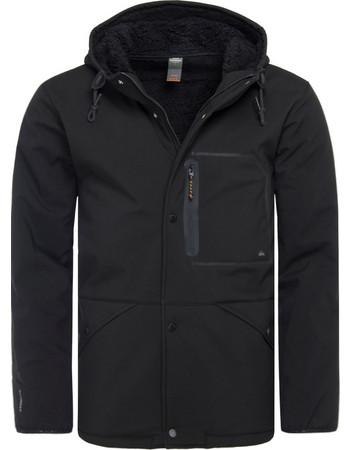 Quiksilver Waterman Night Tides - Waterproof Sherpa Lined Hooded Jacket  EQMJK03013-KVJ0 9a584cc3e54