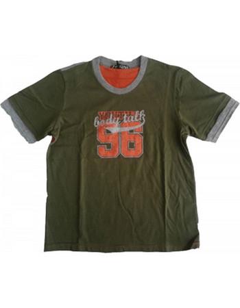 8b5debf32c5 Παιδικά Κοντομάνικα Μπλουζάκια body talk Πράσινο