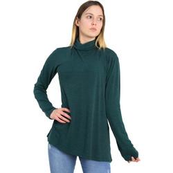 f93f1afe561a Γυναικεία κυπαρισσί μακριά μπλούζα με ζιβάγκο 1176058