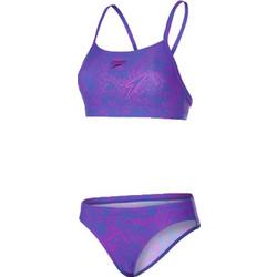 ΓΥΝΑΙΚΕΙΟ ΜΑΓΙΟ ΚΟΛΥΜΒΗΤΗΡΙΟΥ ΜΠΙΚΙΝΙ SPEEDO BOOM ALLOVER 2 PIECE blue purple  10817-C265 ddd3db69b71