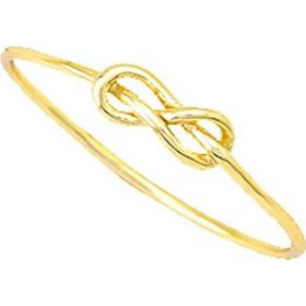 Ασημένιο επιχρυσωμένο δαχτυλίδι 925 ναυτικός κόμπος DSL311A 37e9141bcab