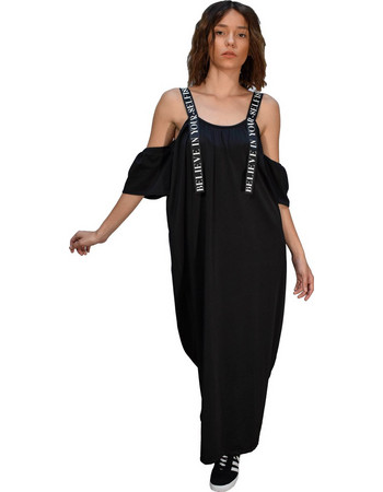 Superdry TRI LEAGUE MAXI DRESS (G80003FO FUB) 6c4b17f8413
