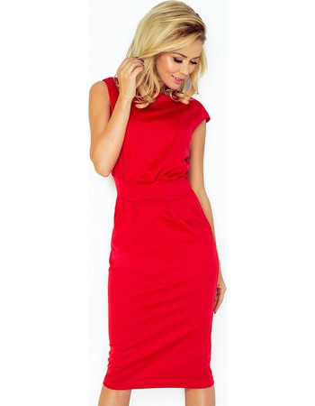 70078 NU Μίντι φόρεμα - κόκκινο 57edd4c284d