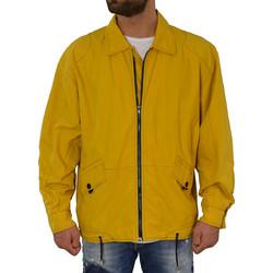 Ανδρικό μπουφάν κίτρινο υφασμάτινο 2001782 d2f0fdb4757