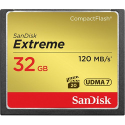 Sandisk 32GB Compact Flash Extreme 120MB