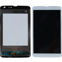 LG G Pad 8.3 3G V500 - LCD with Touch Screen Digitizer Assembly Λευκό (OEM) (BULK)