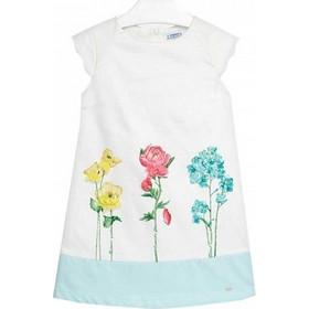 Φορεμα λουλουδι απλικε Mayoral 2806930 - βεραμαν c02d74eb692