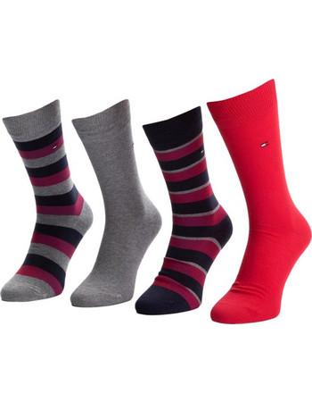 Tommy Hilfiger Ανδρικές Κάλτσες Stripe Box - Τετράδα Tommy Original aa17ee18166