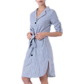 ebef2acfafdf Ριγέ πουκαμισο-φόρεμα Lilie Rose