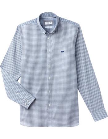 Lacoste ανδρικό πουκάμισο με ριγέ μικροσχέδιο The 4 Essential Shirts of the  Season - CH0401 - 6e911999c94