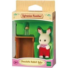 Sylvanian Families 5062 Μωρό Λαγουδάκι Chocolate Rabbit Σε Κούνια 5c651dcfff9