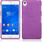 Terrapin Gel Case Clear Purple (Xperia Z3+)
