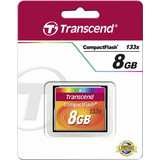 Transcend 8GB Compact Flash 133X