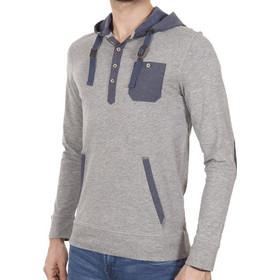033004978fcf Ανδρικό Μπλούζα με Κουκούλα Hoodie CELIO BERECAP GRIS CHINE 05 Γκρι