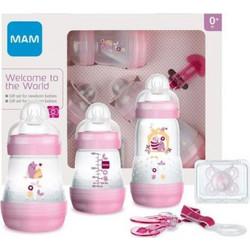 93338553a8f Mam Gift Set 0+ Σετ Δώρου 5 Προϊόντων Βρεφανάπτυξης για Νεογέννητα ΡΟΖ 5  τμχ (