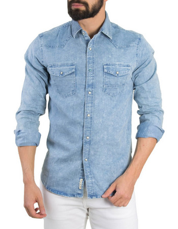 0143da84356 jeans - Ανδρικά Πουκάμισα (Σελίδα 3)   BestPrice.gr