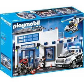 d3ba1e5b0ea1 Playmobil City Action - Αστυνομικό Τμήμα με Περιπολικό & Ελικόπτερο 9372